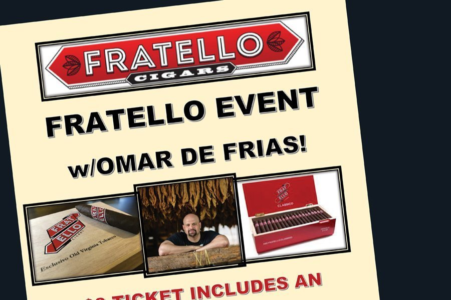 Fratello Event with Omar De Frias!