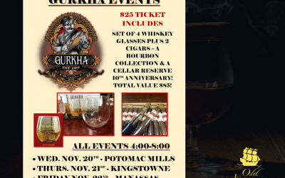 Join us for our Gurkha Events!