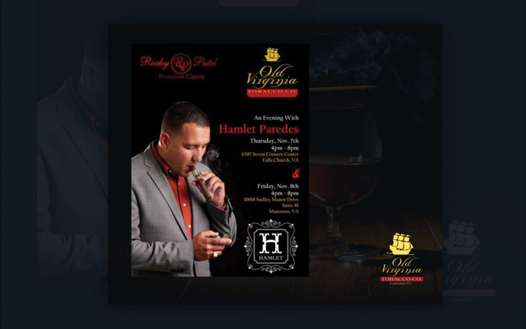 An evening with Hamlet Paredes