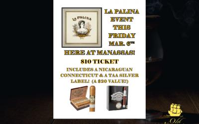 La Palina Event at our Manassas Branch