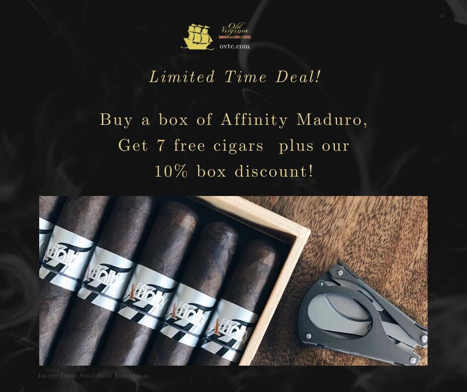 Limited: Affinity Maduro & Get 7 Cigars