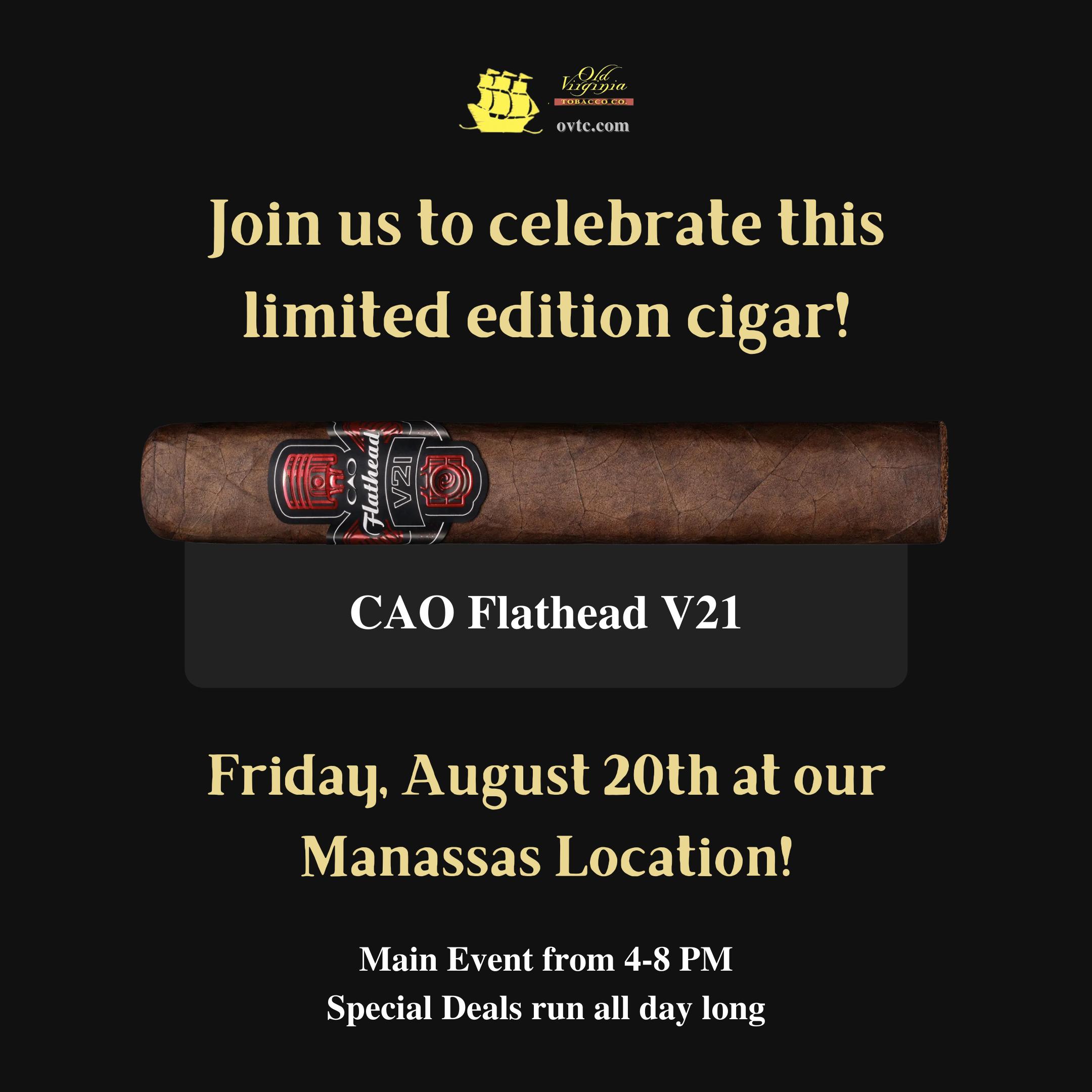 Limited Edition CAO Flathead V21 Event!
