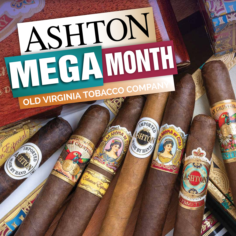 Ashton MEGA Month for October – Special Ashton Barware, Free Cigars, and a Raffle!